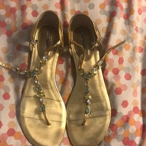 Pair of charles and david sandals size 11